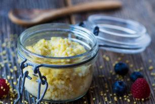 Millet vanillé, un dessert onctueux …..